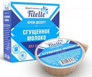 """Крем-десерт - Сгущенное молоко """"Fitelle"""", 100g"""